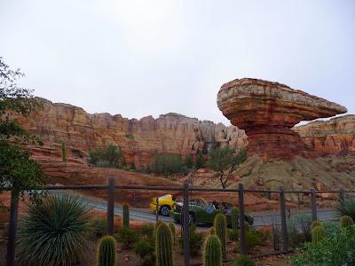 Disney  California Adventure Park decorations holiday Christmas Carsland Radiator Springs