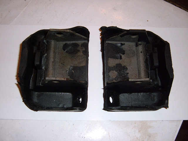 1966-67 340 Buick engine mounts 38.00 a pair