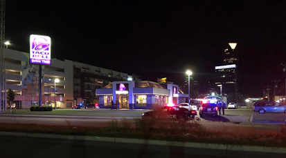 Oklahoma City Taco Bell shooting, security guard shoots man during physical altercation