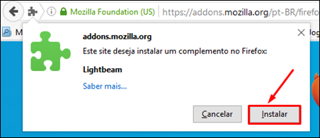 Veja quem está observando você - Lightbeam extensão do Firefox - Visual Dicas