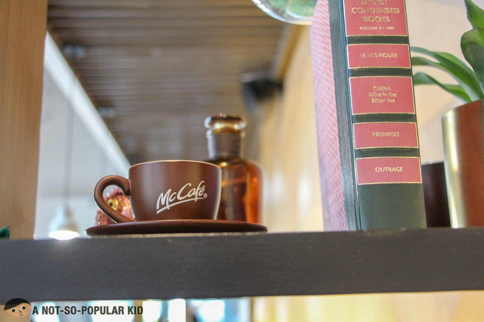 McCafe interior designs and ornament