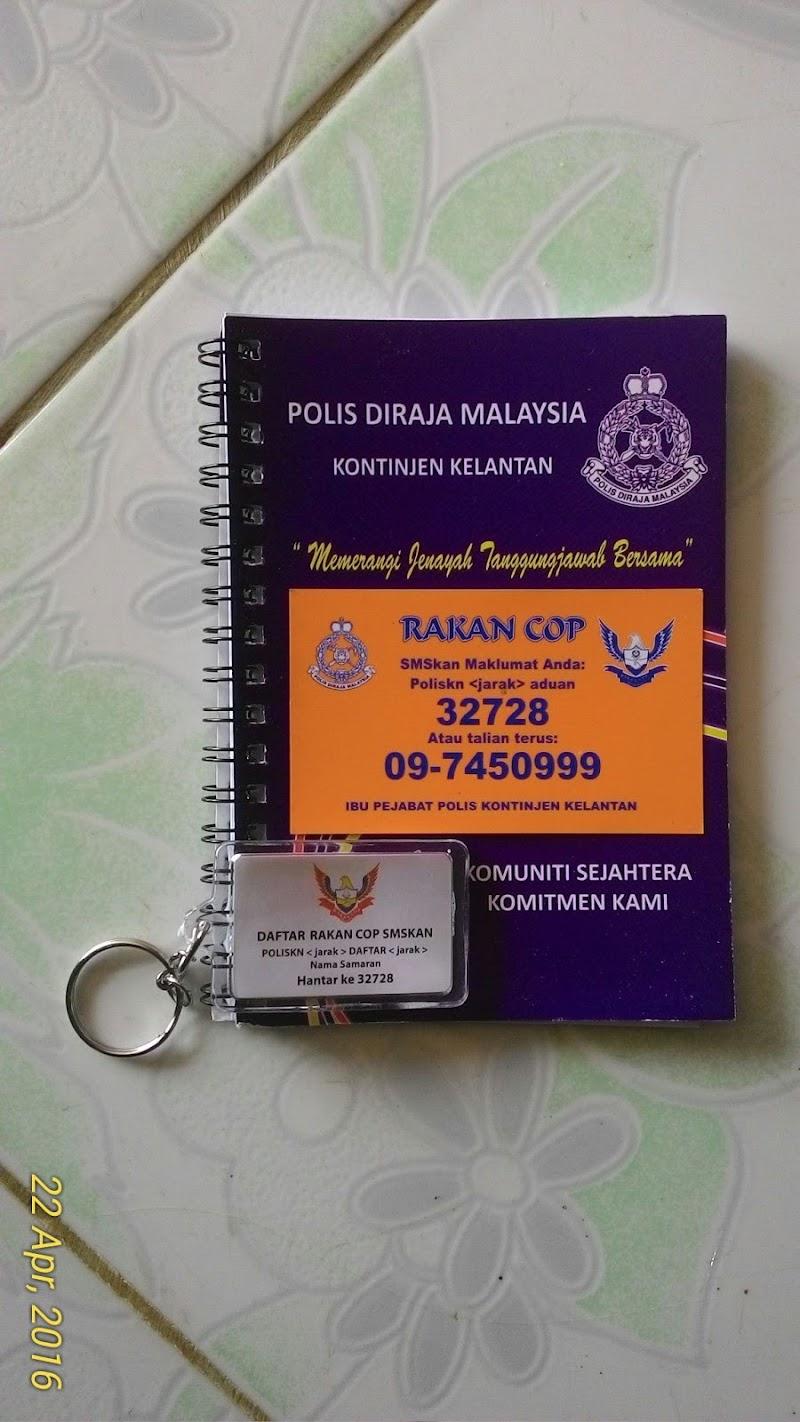 Mendaftar Ahli Rakan Cop di Tanah Merah, Kelantan
