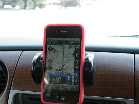 MapFan for iPhoneでカーナビ