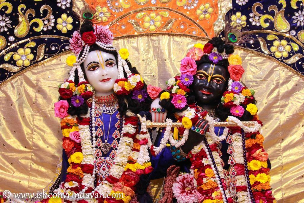 ISKCON Vrindavan Sringar Deity Darshan 12 Mar 2016 (7)