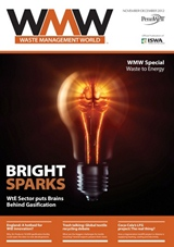 Waste Managemen Magazine cover dec 2012