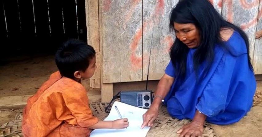 MINEDU brinda atención a más de un millón 200 mil estudiantes en su lengua originaria