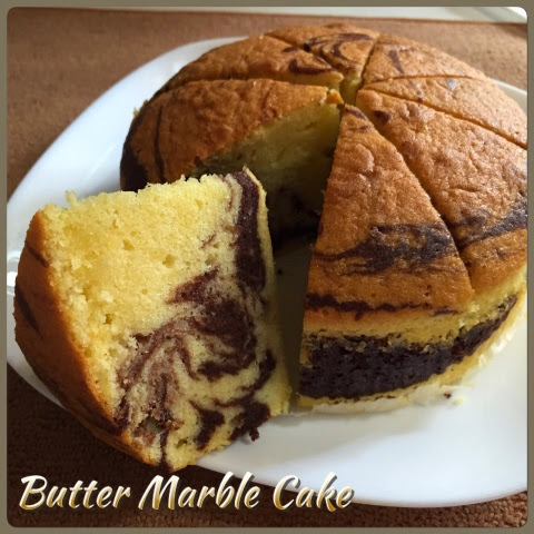 Marble Cake Without Egg