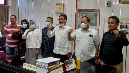 Fraksi Gerindra DPRD Kota Padang Tunda Perjalanan Dinas Selama PPKM.