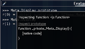 Inspecting functions shows function text
