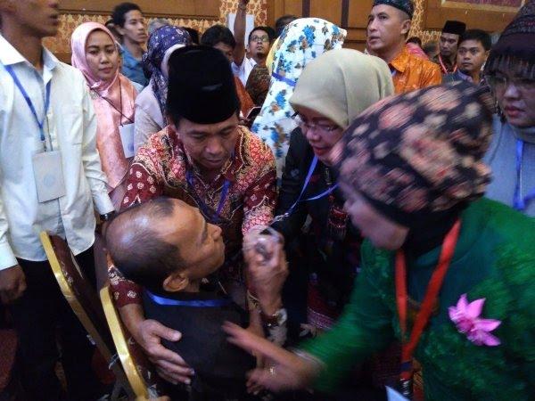MC Gunakan Penutup Wallahul Muwaffiq Rakornas KAHMI Ricuh