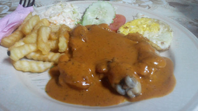 Chicken Chop Corner Kick Cafe Sungai Besar