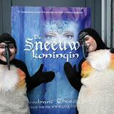 Sneeuwkoningin vanuit / achter de schermen Dec 2008