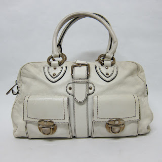 Marc Jacobs Ecru Leather Bag