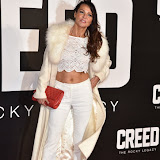 OIC - ENTSIMAGES.COM - Lizzie Cundy at the  Creed - UK film premiere at the Empire Leicester Sq London 12th January 2016 Photo Mobis Photos/OIC 0203 174 1069