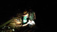 Tersapu Angin Kencang Satu Rumah di Tonjong Ambruk
