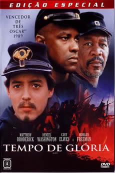 Capa Tempo de Glória (1989) Dublado Torrent