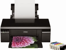 How to reset flashing lights for Epson TX409 printer