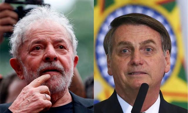 Lula lidera corrida eleitoral de 2022 e venceria Bolsonaro no 2º turno, diz Datafolha
