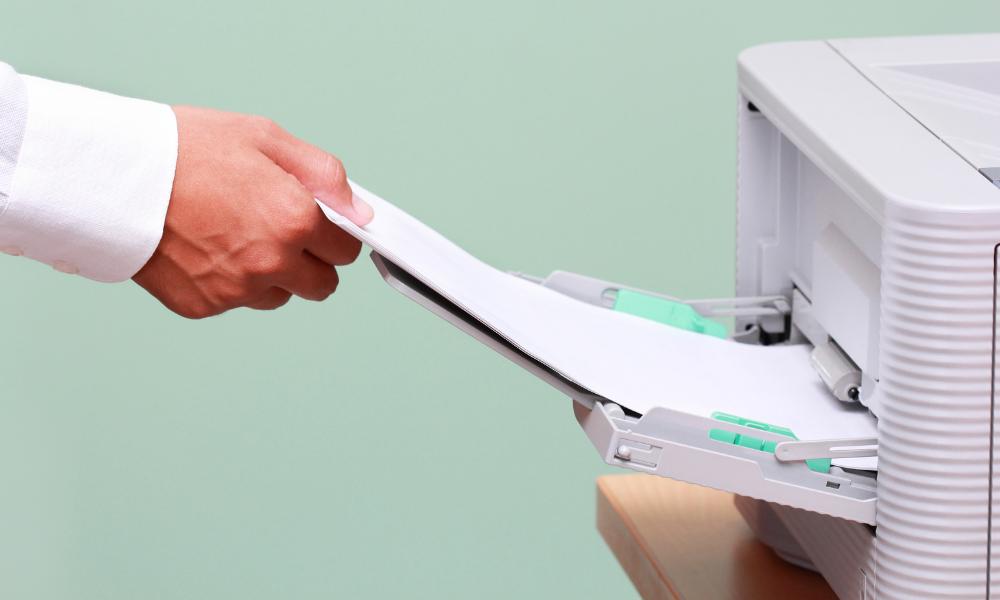 Jammed Paper