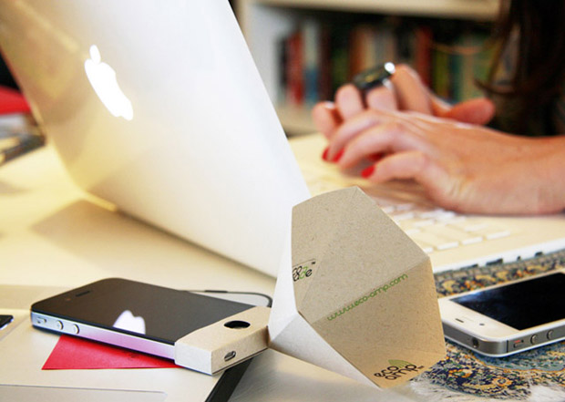 Eco-friendly iPhone Speaker Amplifier