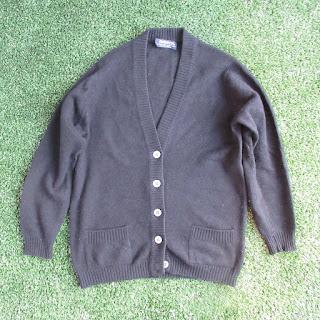 Burberrys Vintage Wool Cardigan