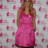 WWW.ENTSIMAGES.COM -   Stacey Solomon     at    Breast Cancer Campaign's Pink Ribbon Ball at The Dorchester, 55 Park Lane, London October 12th 2013                                                    Photo Mobis Photos/OIC 0203 174 1069