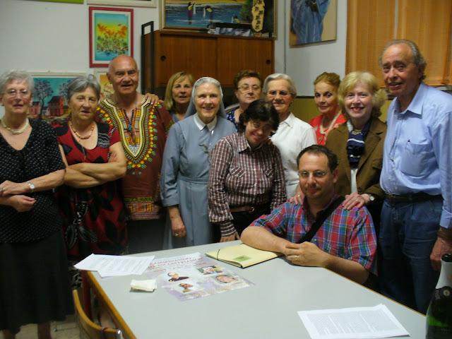P. Zamberlan assieme al gruppo Missionario
