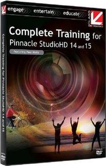 Pinnacle Studio 14 ve 15 Görsel Eğitim Seti - İngilizce Tek Link