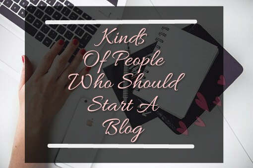 People Whom I think Should Start A Blog 1