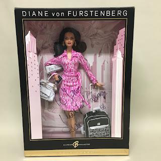 Signed Diane von Furstenberg Barbie Doll