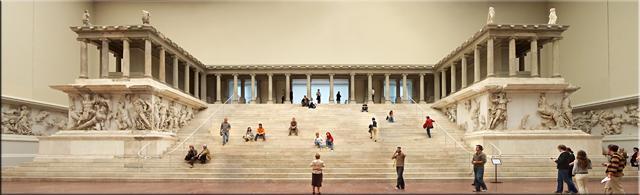 Altar de Zeus - Esta sala del Pergamonmuseum estará cerrada hasta 2019