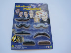 Seven fake mustaches- one for each day of the week, or plenty to share with friends!  These make for some hilarious photos.