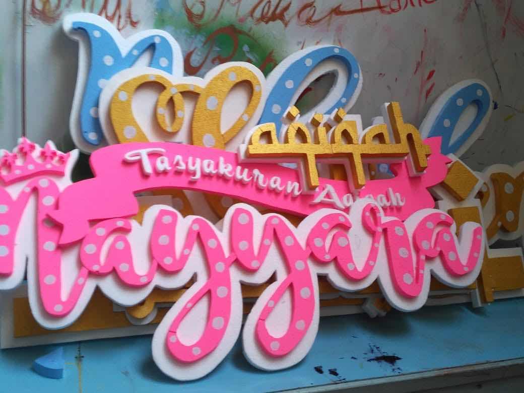 foto styrofoam untuk aqiqah