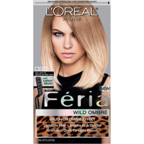 mary contrarie l 39 oreal paris feria wild ombre hair color. Black Bedroom Furniture Sets. Home Design Ideas
