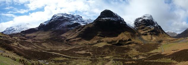 "Photo: Vallée de Glencoe (""Highlander"", ""Braveheart"")"