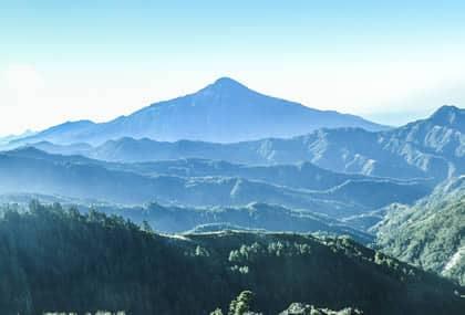 Majestuoso volcan Tajumulco