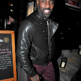WWW.ENTSIMAGES.COM - Idris Elba  at   Floridita cocktail Bar  Launch of the Rum Shack at  100 Wardour St, London February 1st 2013                                                        Photo Mobis Photos/OIC 0203 174 1069