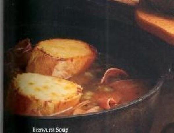 Beerwurst Soup Recipe