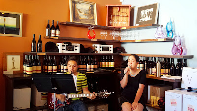 Music is part of the Terrroir of Tesoaria Wines