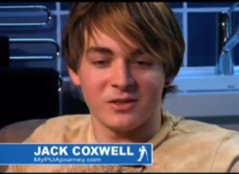 Jack Coxwell Portrait, Jack Coxwell