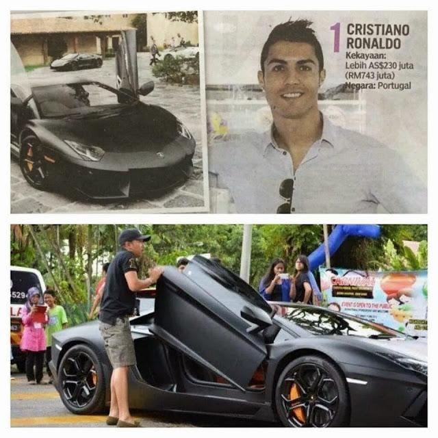 Anak Nazri Taraf Ronaldo?