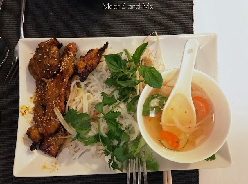 Restaurante vietnamita en Madrid