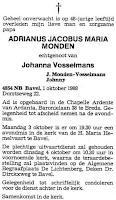 Monden, Adrianus Jacobus Maria Rouwadvertentie.jpg