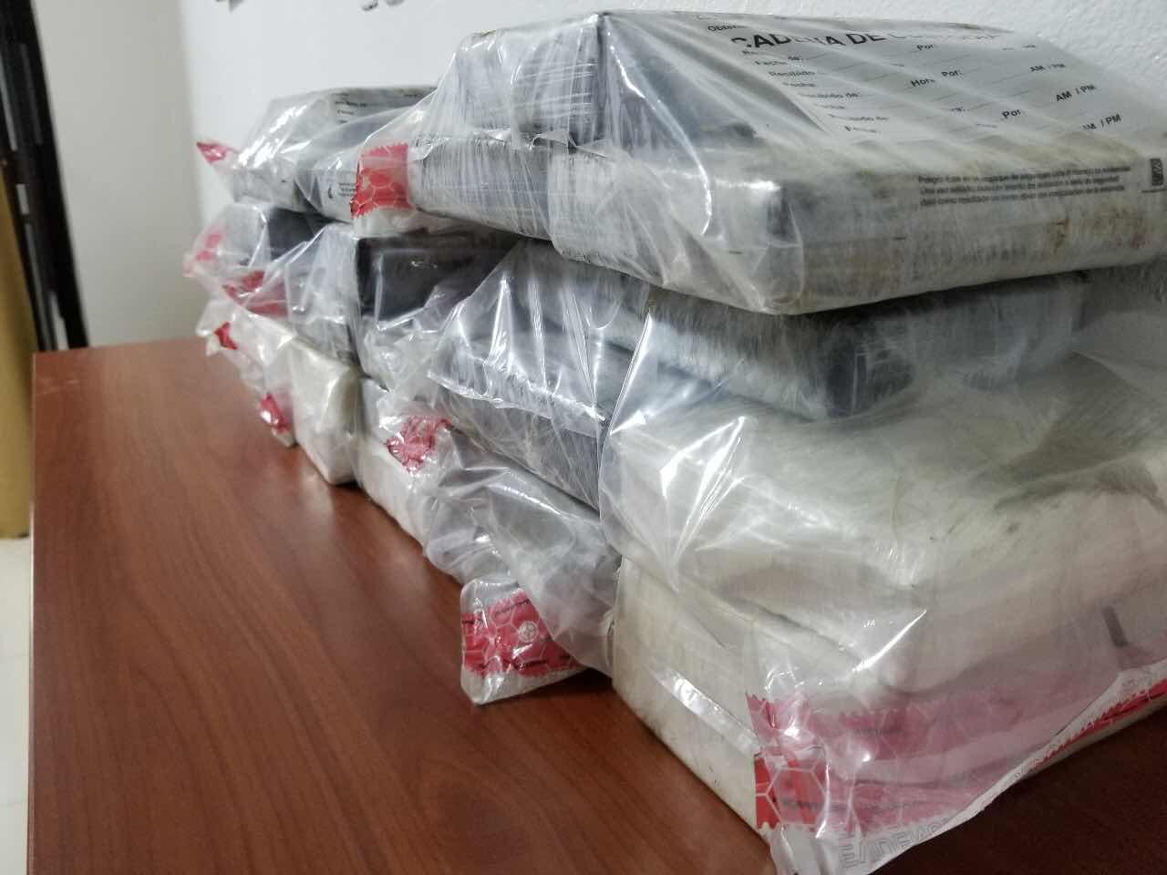 OCUPAN 28 PAQUETES DE COCAINA EN PUERTO DE HAINA E INTENSIFICAN OPERATIVOS CONTRA TRAFICO DE DROGAS.-
