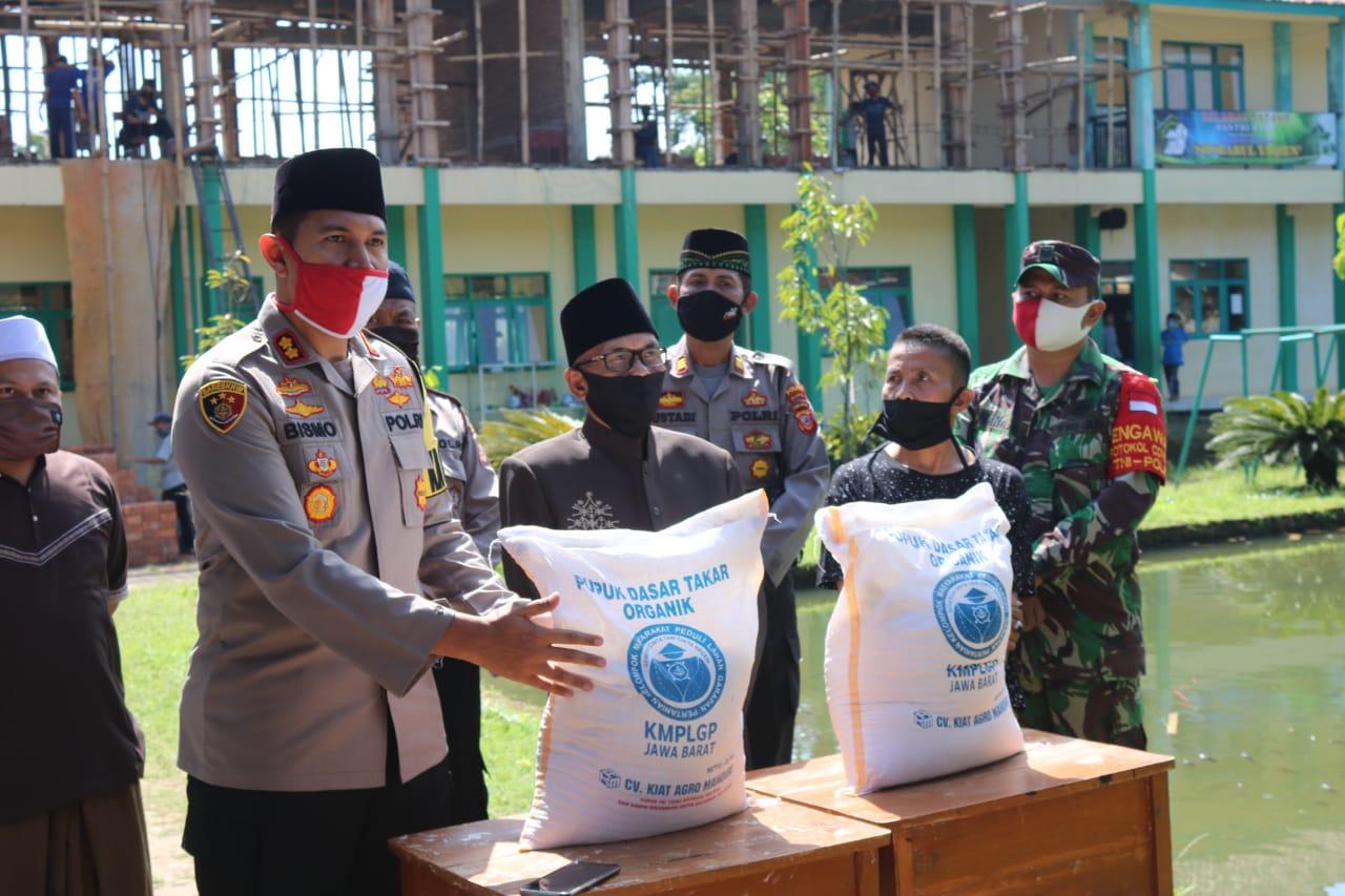 Polres Majalengka Rintis Pesantren Tangguh Jawa Barat