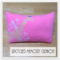 Upcycled Memory Cushion