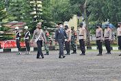Di Halaman Mapolres Bener Meriah, Plt Bupati Dailami Pimpin Apel Gelar Pasukan Patuh Seulawah 2021