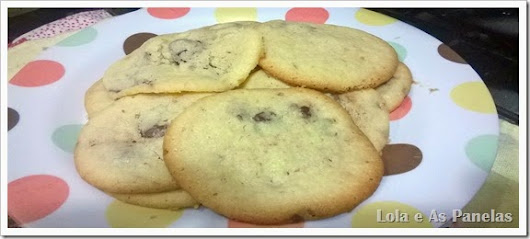 {Lola e As Panelas} Cookies da Lola.