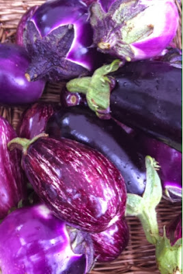 Brockley Market - aubergine