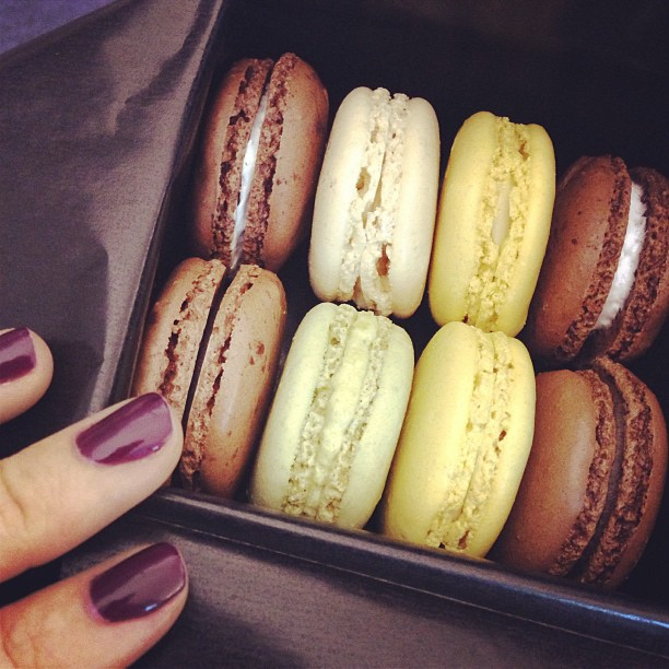 macarons from laduree